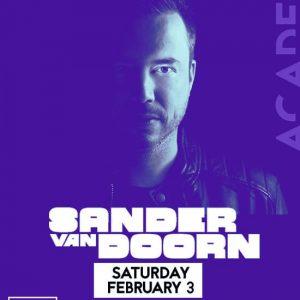 Sander Van Doorn at Academy LA