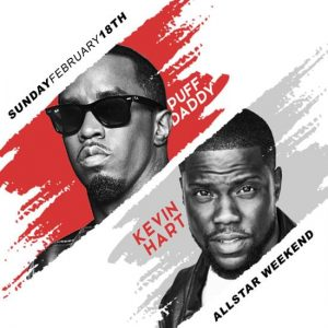 Puff Daddy & Kevin Hart at Academy LA