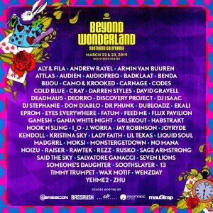 Beyond Wonderland 2019 at NOS Events Center