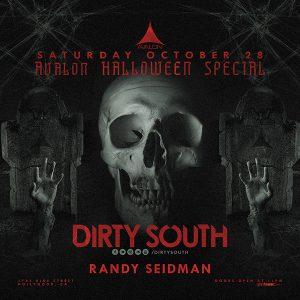 dirty south and randy seidman at avalon hollywood