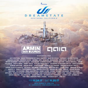 Dreamstate SoCal 2017 at NOS Events Center
