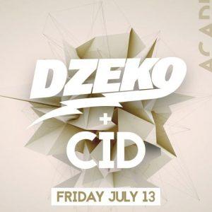 Dzeko & CID at Academy LA