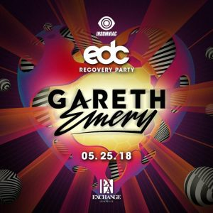 Gareth Emery at Exchange LA