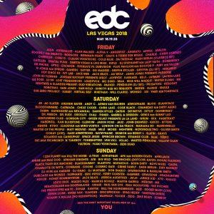 EDC Las Vegas 2018 Lineup
