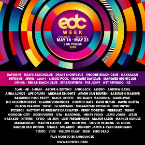 EDC Week 2018 Lineup