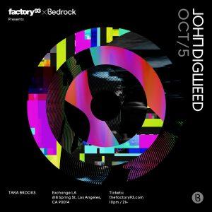 Factory 93 presents John Digweed at Exchange LA