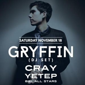 gryffin at create nightclub tickets guestlist