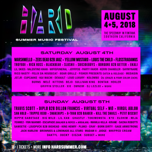 HARD Summer Music Festival 2018