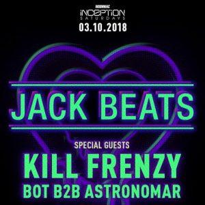 Jack Beats, Kill Frenzy, BOT & Astronomar at Exchange LA