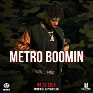 Metro Boomin at Exchange LA