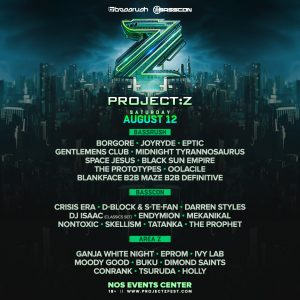 Bassrush & Basscon present Project Z at NOS Events Center