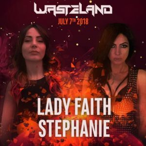 Lady Faith & DJ Stephanie at Exchange LA