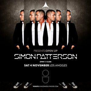 simon patterson at Avalon Hollywood