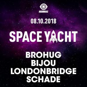 Space Yacht w/ Brohug, Bijou, Londonbridge, Schade at Exchange LA