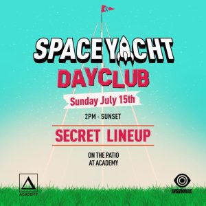 Space Yacht Day Club at Academy LA