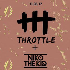 Throttle & Niko The Kid at Create Nightclub