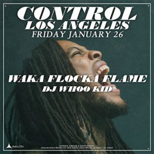 waka flocka flame at avalon hollywood